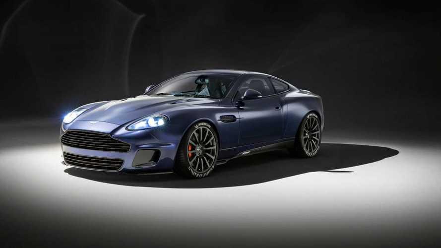 Callum'un ilk yalın projesi: Aston Martin Vanquish 25