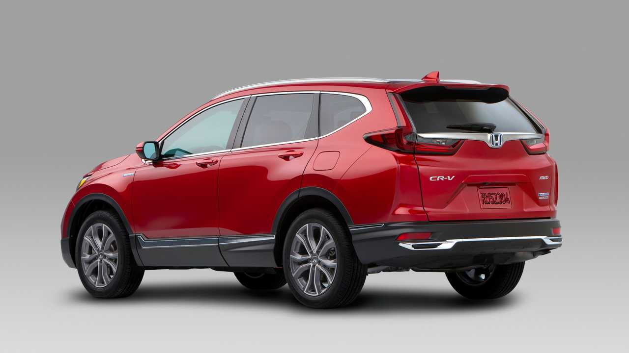 2020 Honda Cr V Debuts With Refreshed Styling Hybrid Version