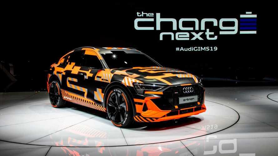 Audi présentera l'e-tron Sportback au mois de novembre prochain