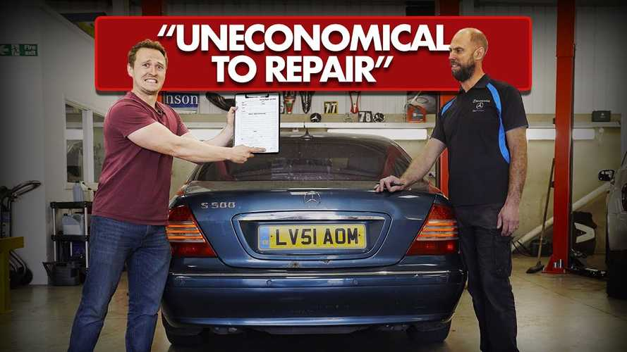 £1,000 luxury car challenge: Buying and repairing old Mercedes S500