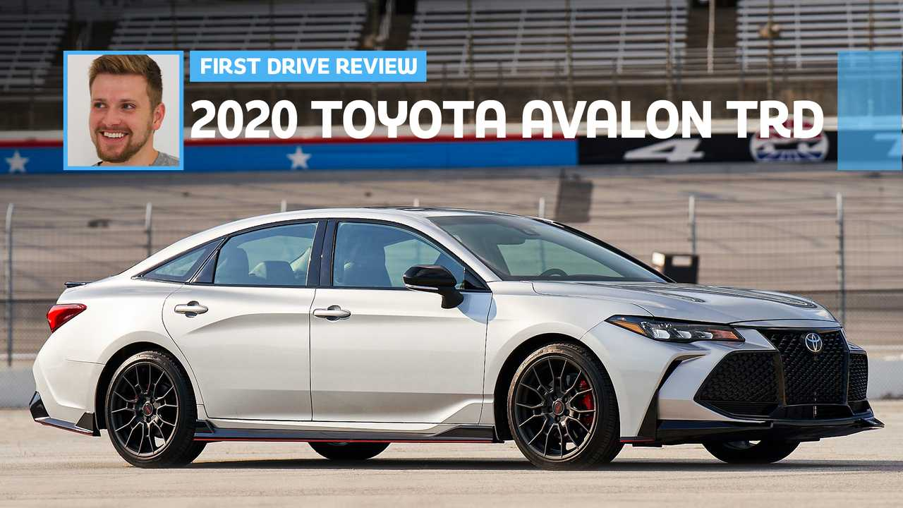 2020 Toyota Avalon TRD: First Drive
