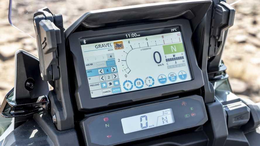 Honda Africa Twin, online il simulatore del display TFT