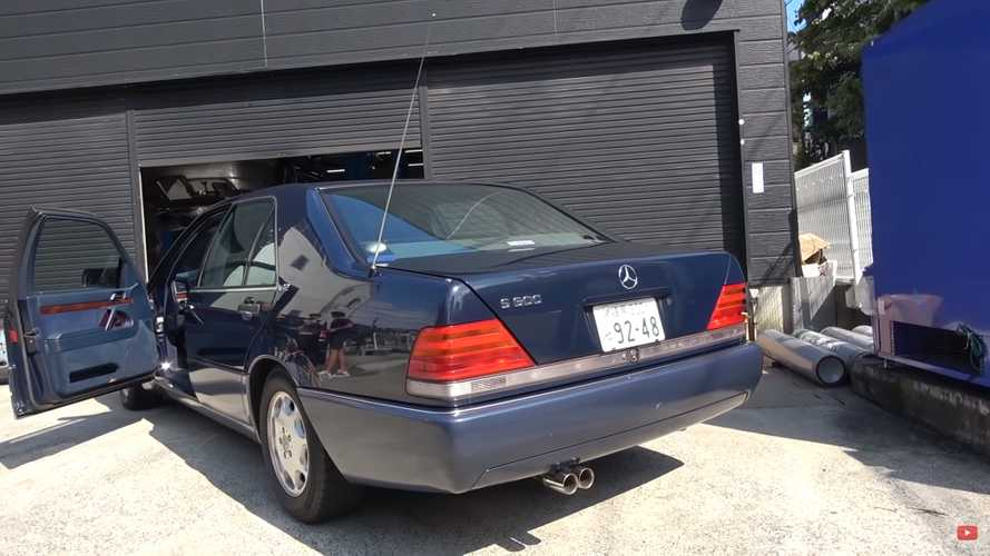 Old V12 Mercedes Gets $12k Exhaust Upgrade, Sounds Like Angry God