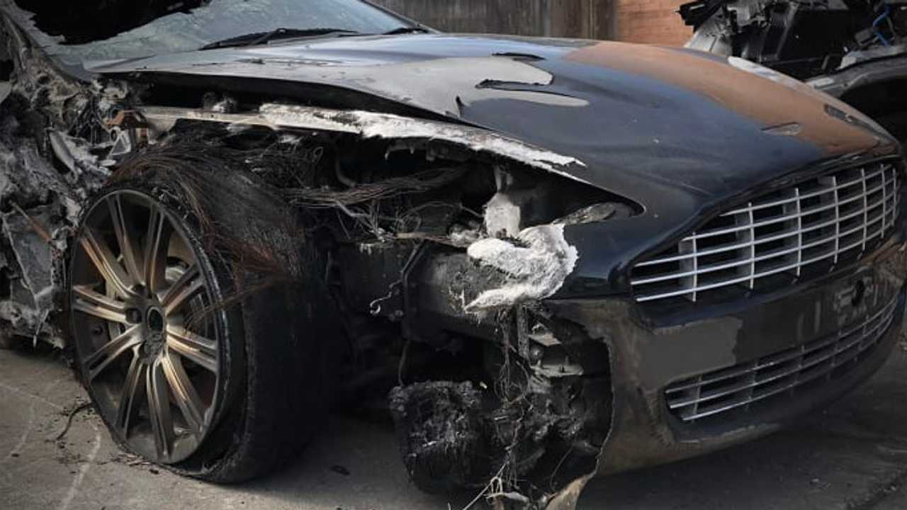 Totaled Ferrari Aston Martin Transformed Into Bespoke Watches Motorious