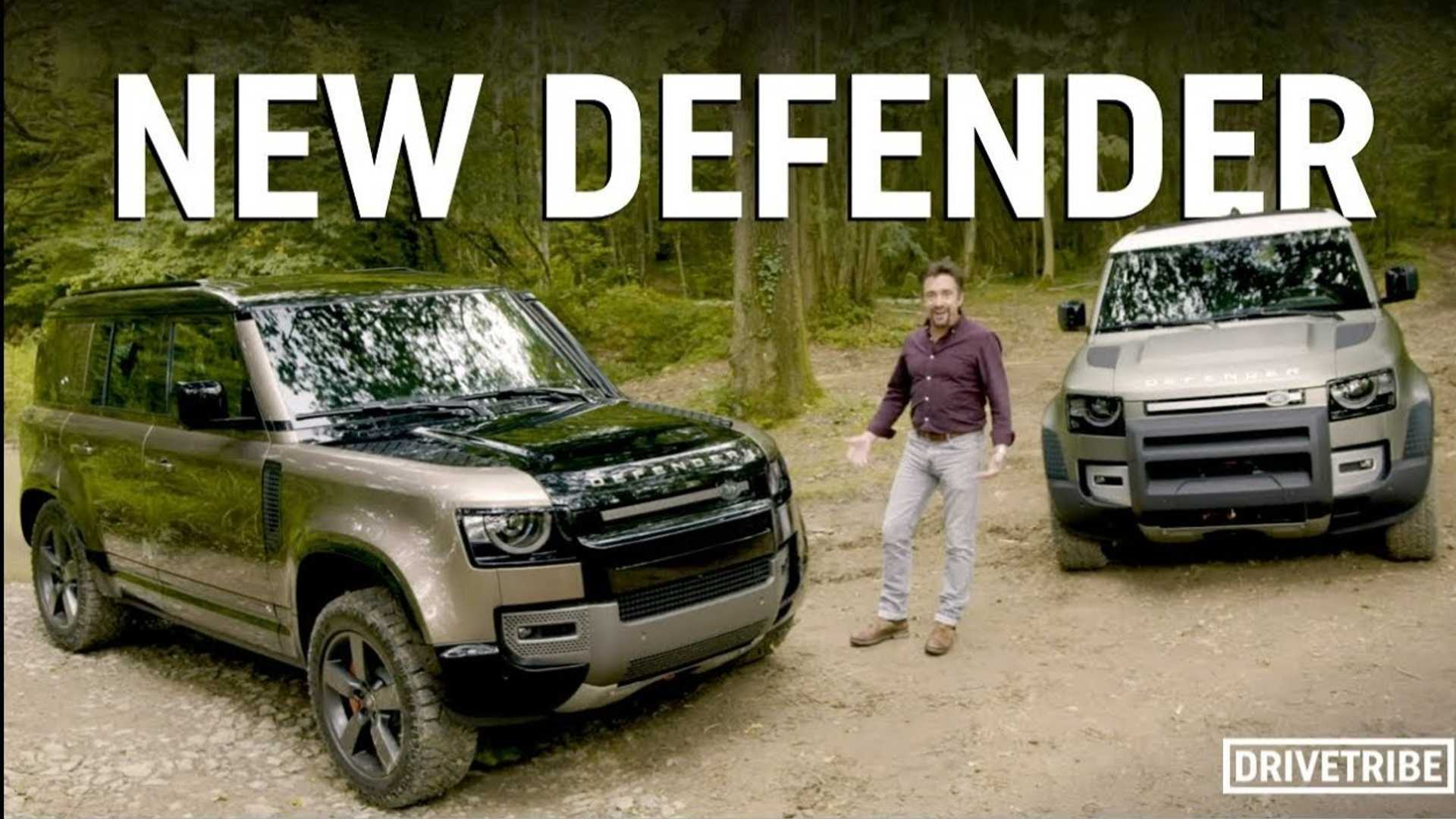 Richard Hammond checks out the new Land Rover Defender