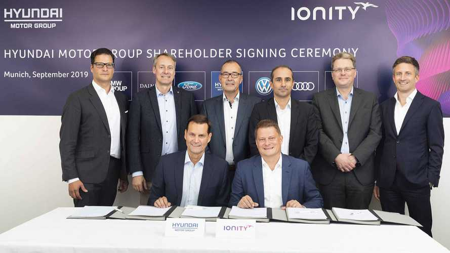 Hyundai Alongside Kia Invests In IONITY Fast Charging Network