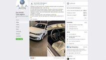 Leak zeigt den neuen VW Golf 8 komplett ungetarnt