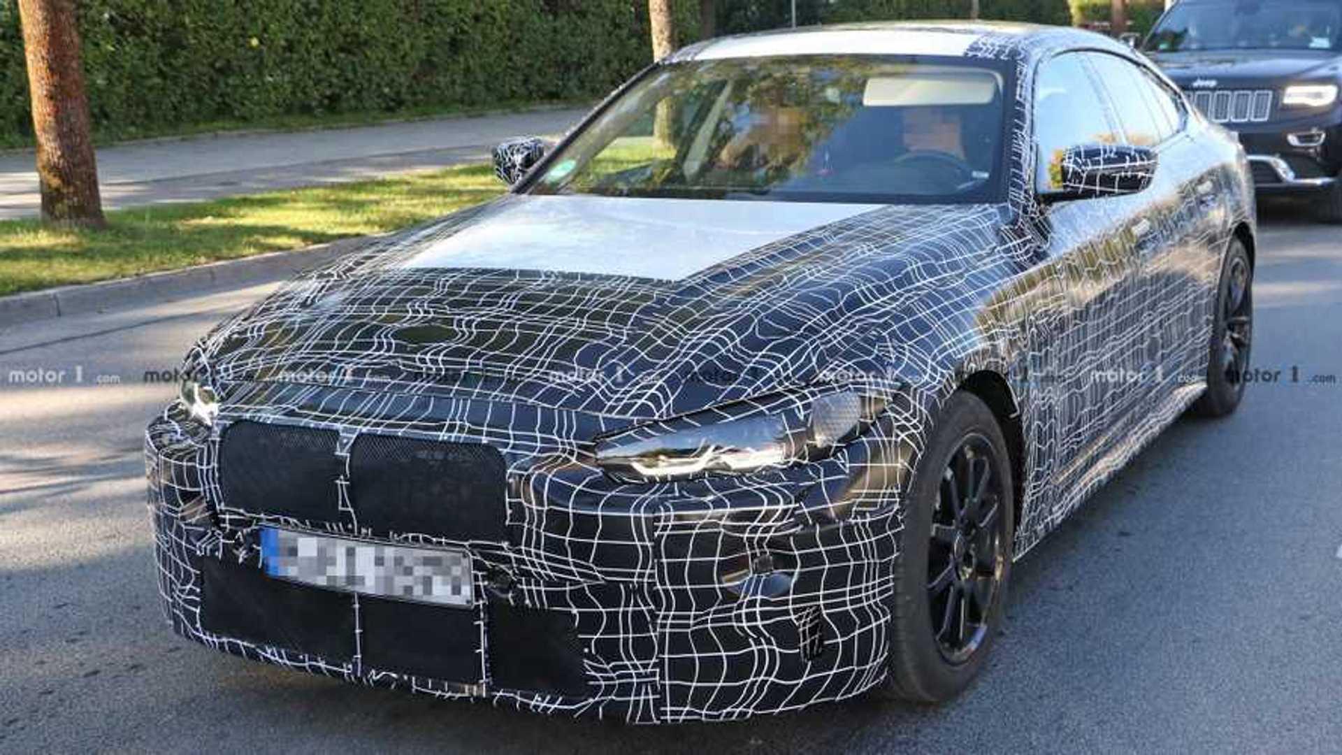 2020 - [BMW] Série 4 Gran Coupé [G26] Bmw-4-series-gran-coupe-new-spy-photo