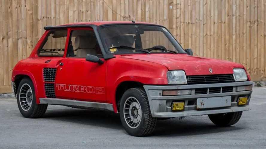 Subasta Renault 5 Turbo 2 Evolution en mal estado