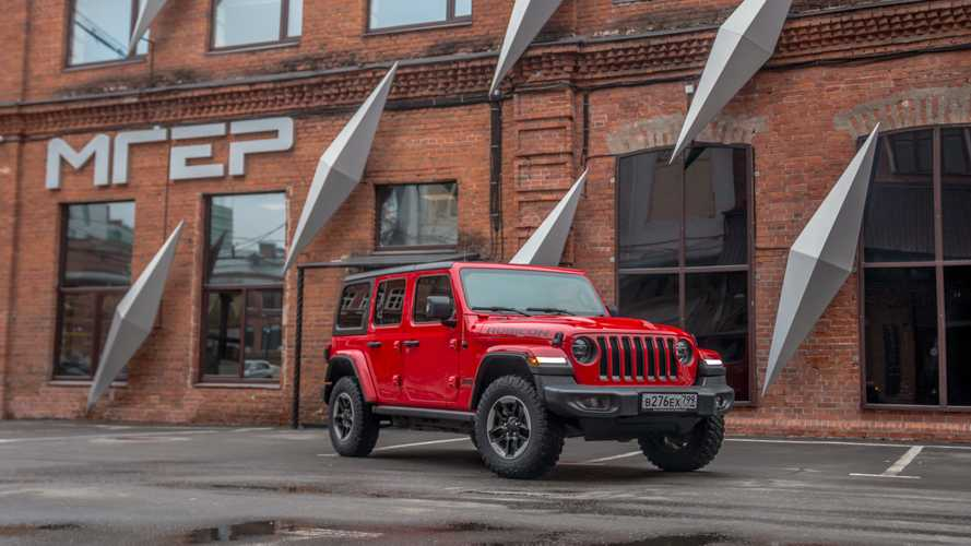 Jeep Wrangler Rubicon Unlimited в Москве