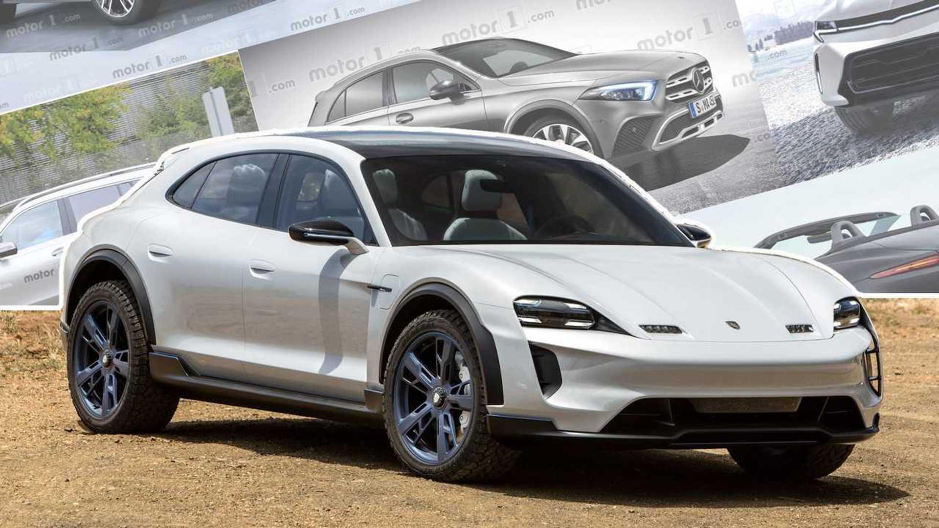 Porsche Developing Trick Stability Software Using Four-Motor E-SUV