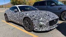 2021 jaguar f type spy video