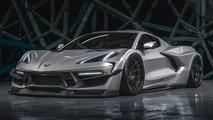 Chevy Corvette Widebody 2020 imaginado por HugoSilva Designs
