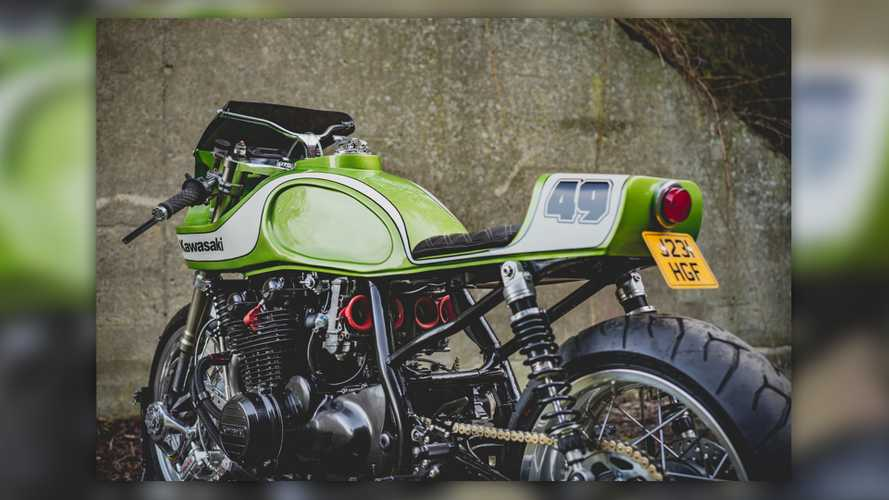 November Customs Kawasaki Zephyr Cafe Racer