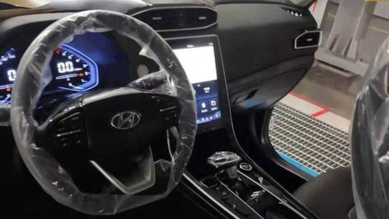 Hyundai Creta/ix25 2020 - Flagra do interior