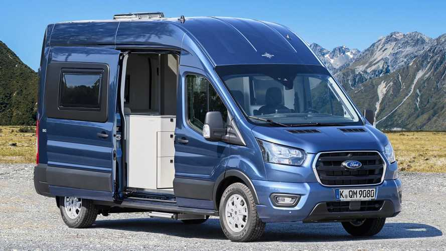 Ford Big Nugget, il Transit si fa camper
