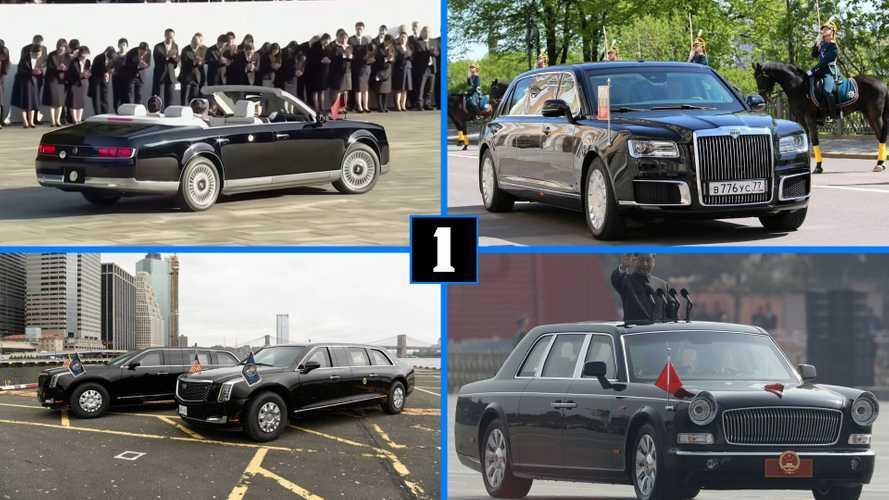 «Зверь», «Знамя» и другие: 5 самых крутых президентских машин