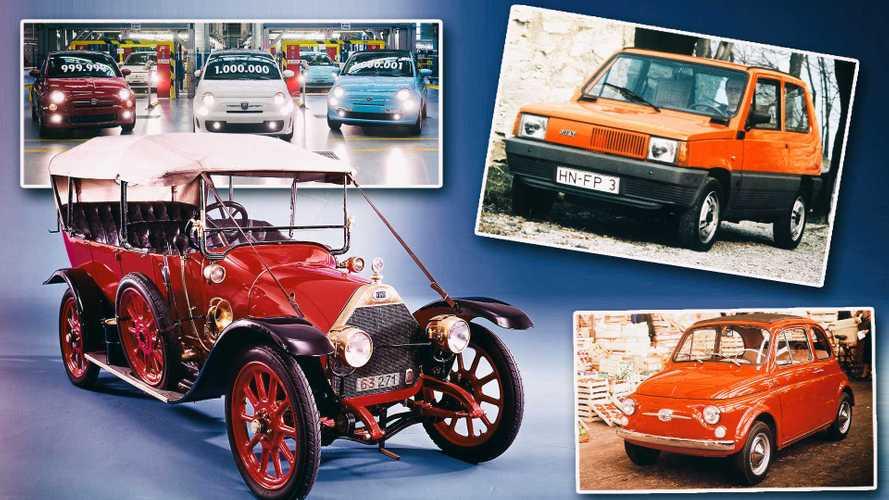 120 Jahre Fiat: Die 10 wichtigsten Modelle