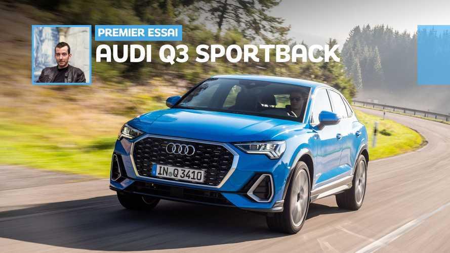 Essai Audi Q3 Sportback (2019) - SUV Coupé mais pas décalé
