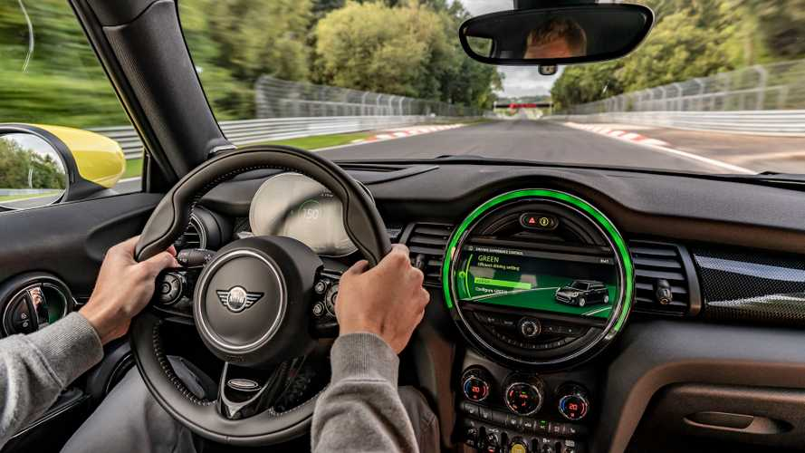 Mini Cooper SE Can Lap Nurburgring Without Braking