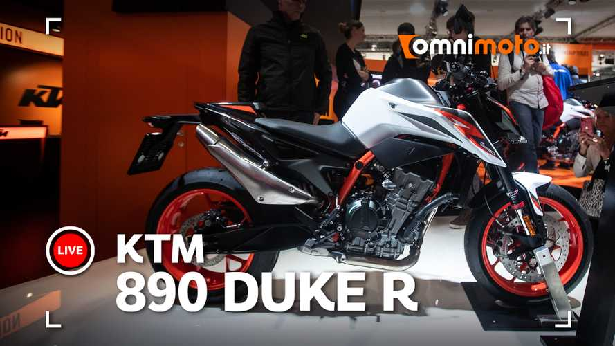 KTM 890 Duke R, roadster media allo stato dell'arte