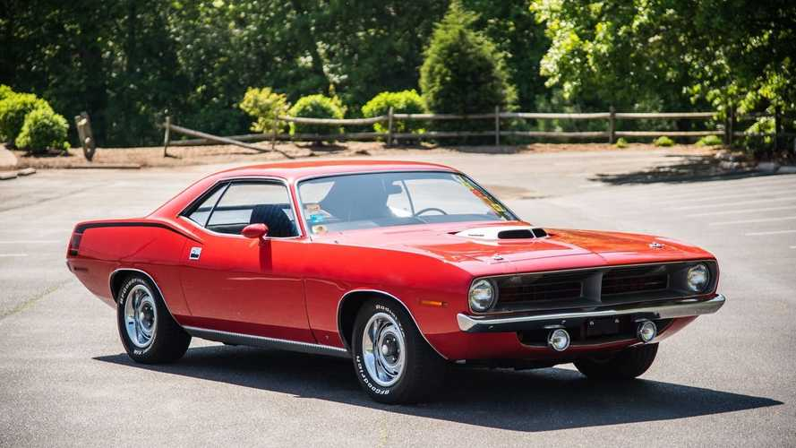 For $245K, Snag This Numbers-Matching 1970 Plymouth 'Cuda