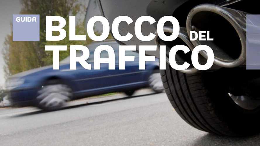 Blocco del traffico, le regole da ottobre a marzo nel Nord Italia
