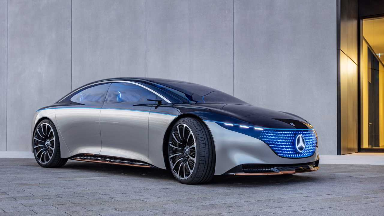 Mercedes-Benz Vision EQS (2019)