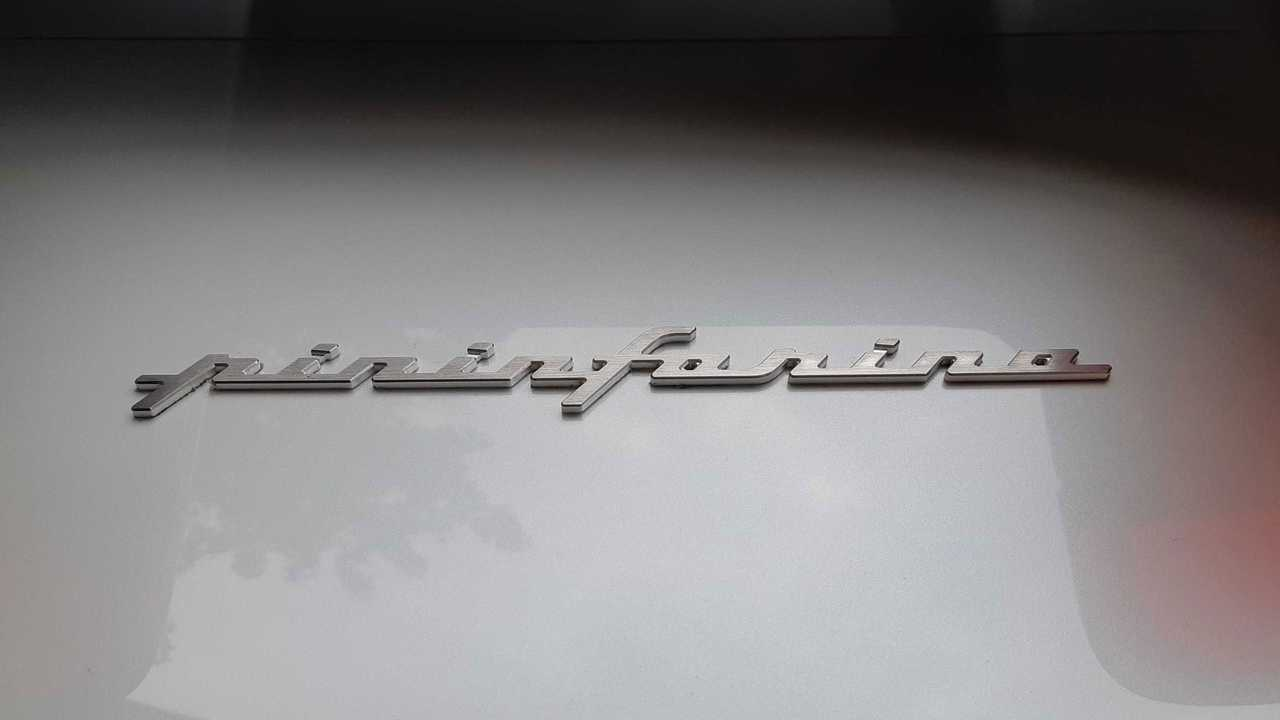 La scritta Pininfarina