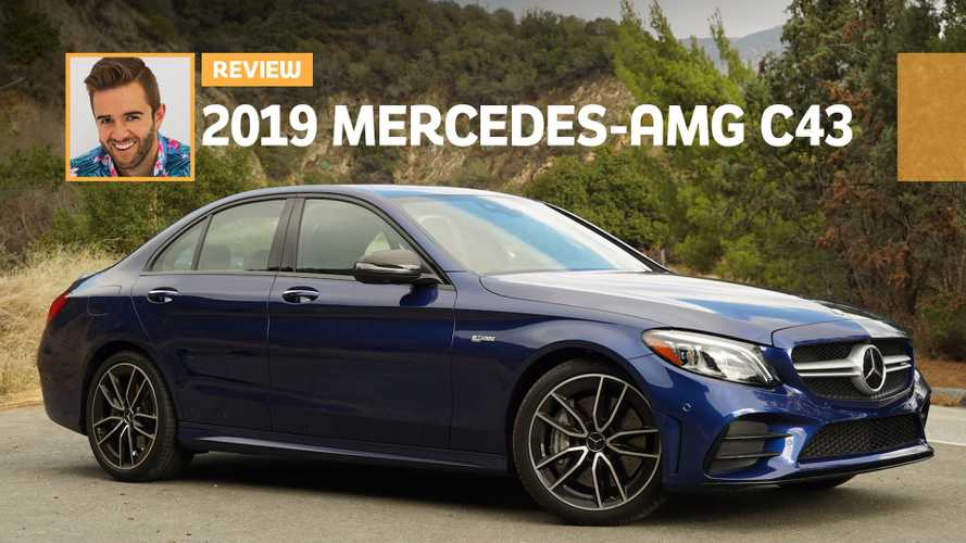 2019 Mercedes-AMG C43 Review: Blue Bombshell