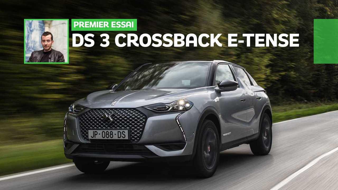 Essai DS 3 Crossback E-Tense