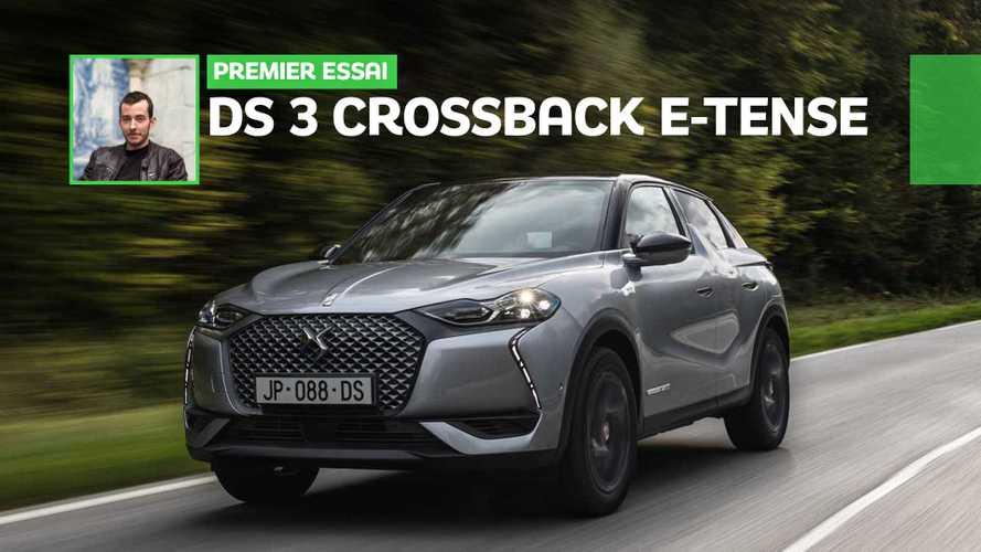 Essai DS 3 Crossback E-Tense (2019) - Un temps d'avance sur demain ?