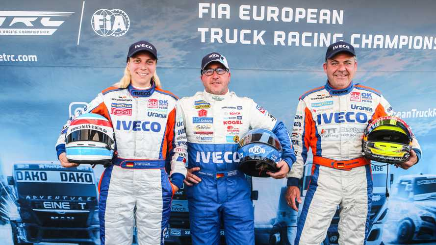 Iveco, trionfo al FIA European Truck Racing Championship 2019