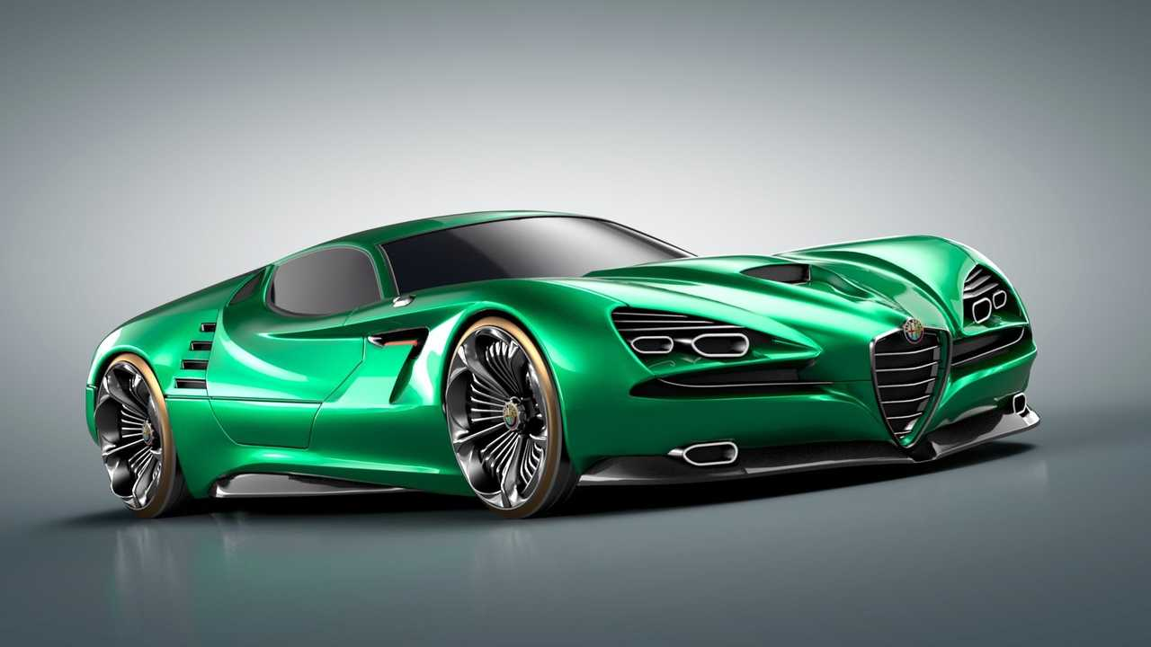 How Much Is An Alfa Romeo >> Alfa Romeo Montreal Vision Gt Concept Has Our Jaws On The Floor