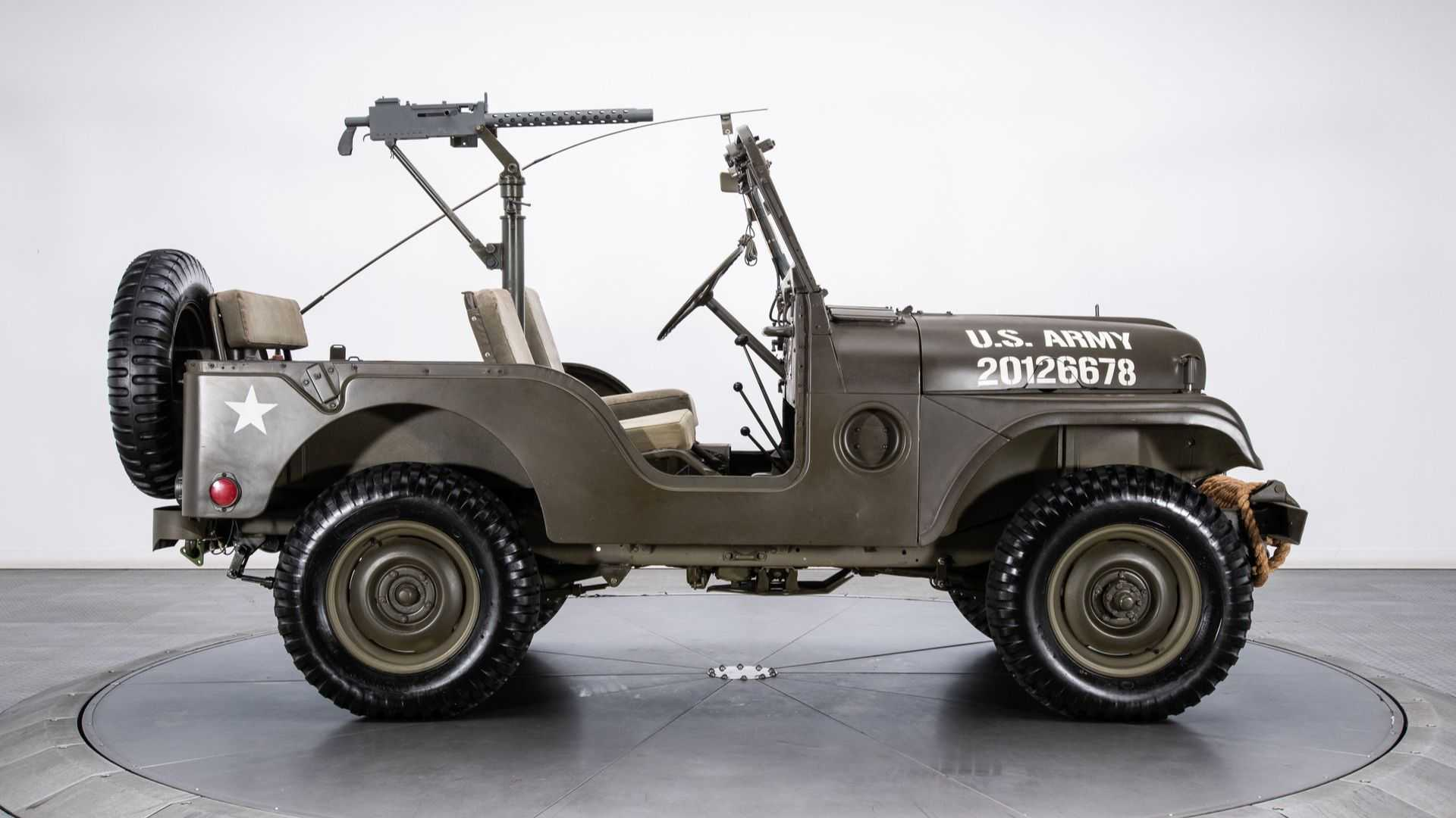 """[""""Start Something With A 1953 Willys M38A1 Military Jeep""""]"""