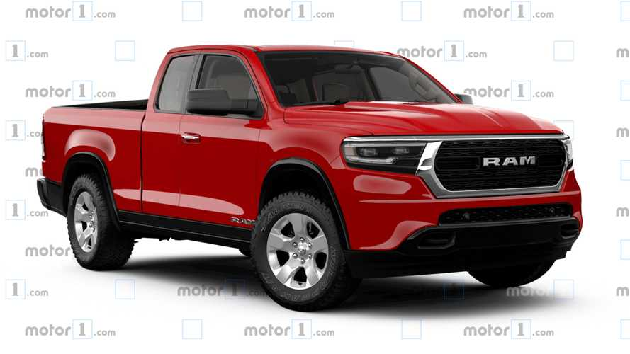 Ram Gets A Midsize Makeover In Exclusive Motor1.com Rendering