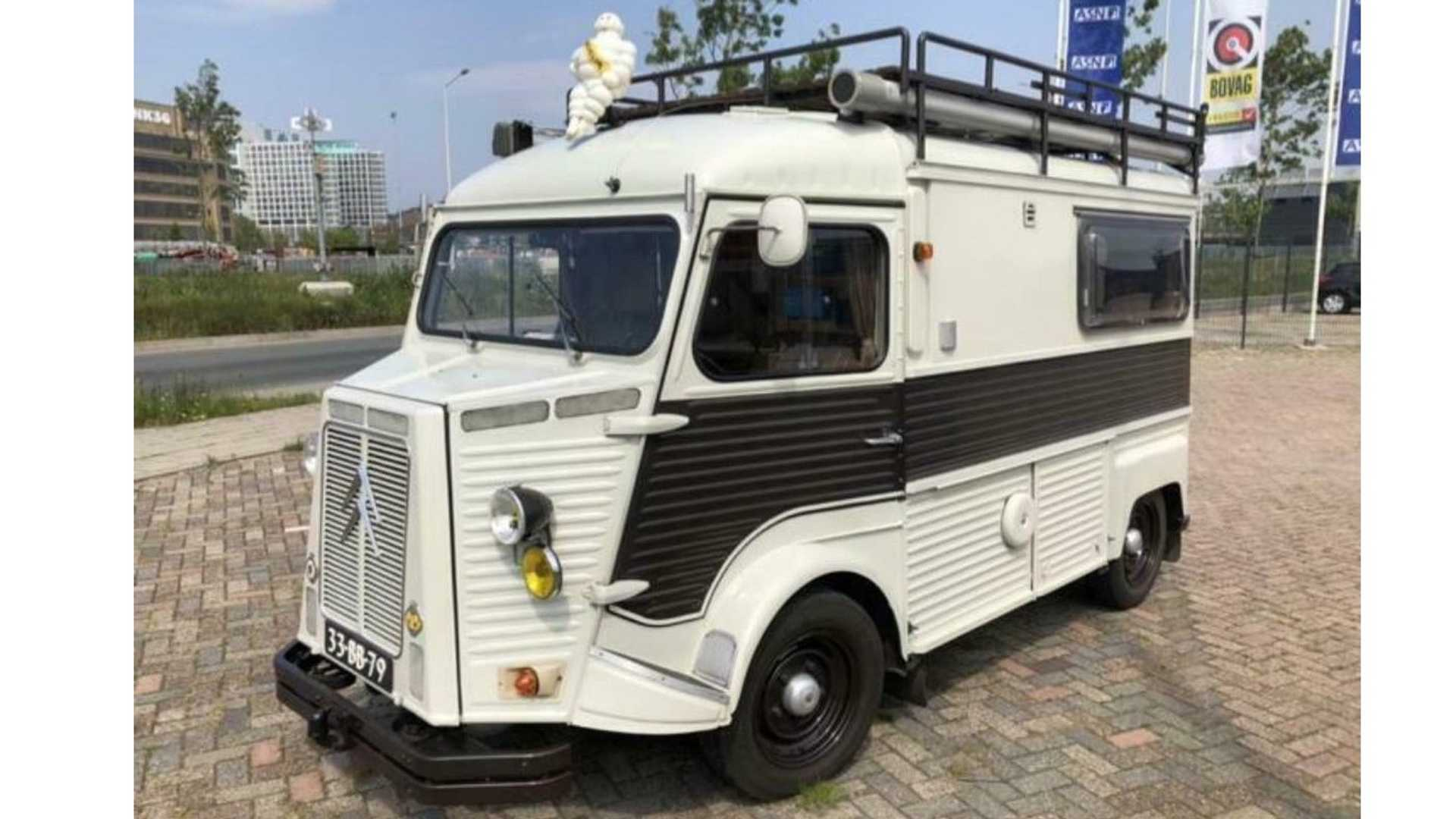 1977 Citroen Camper Van For Sale Is The Cutest Little Thing