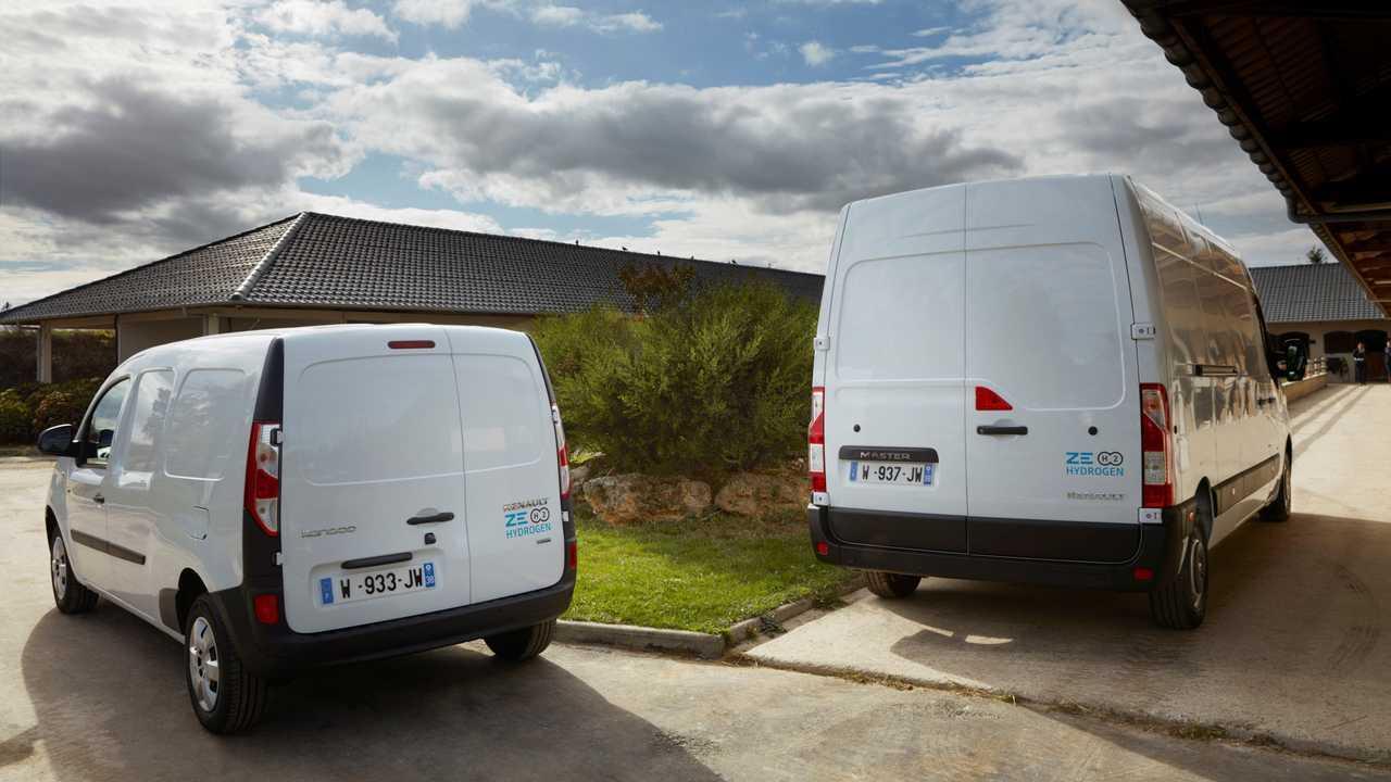 Renault Master e Kangoo ZE Hydrogen