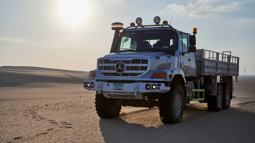 Mercedes-Benz Zetros, ecco la seconda generazione