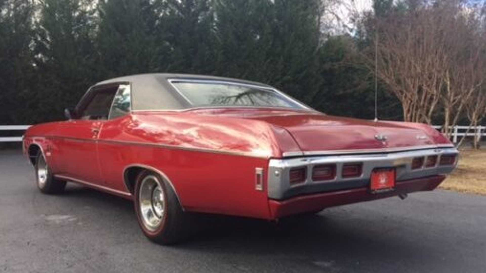 "[""1969 Impala SS Sport Coupe Packs A 427 Punch""]"