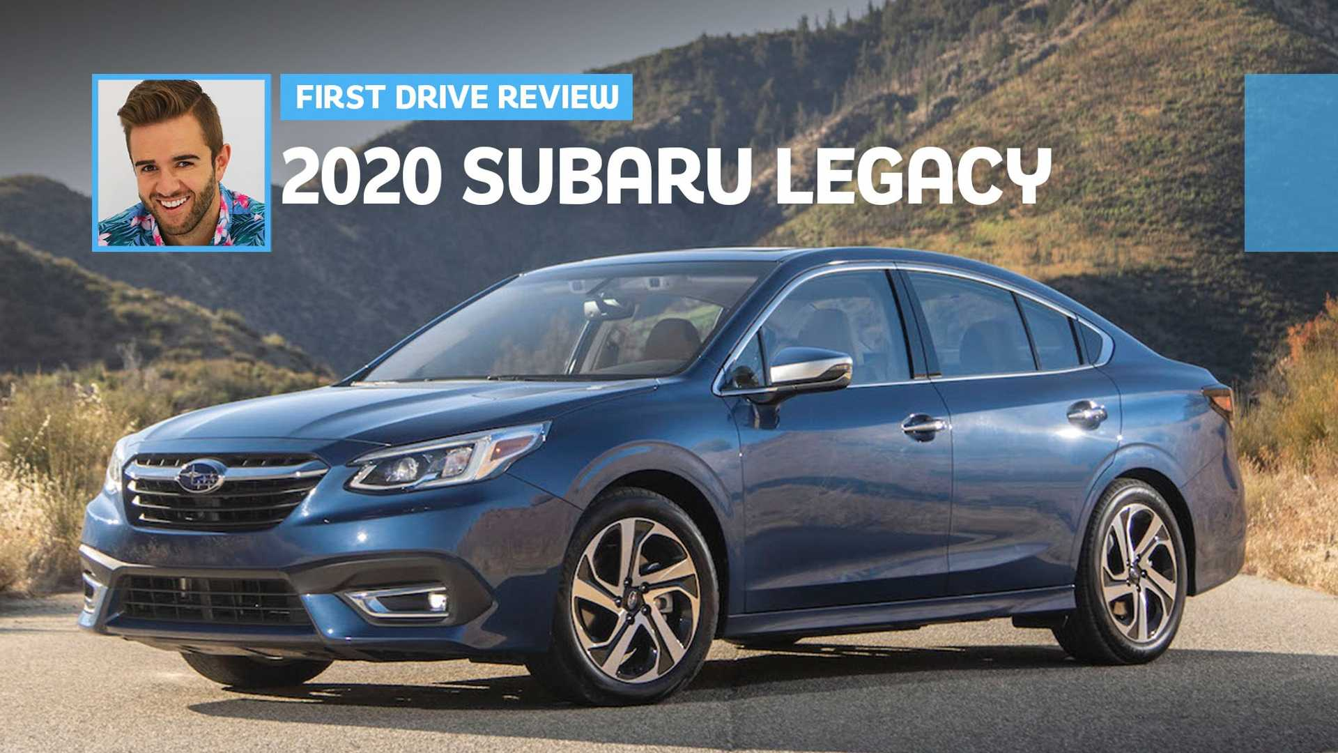 2020 Subaru Legacy First Drive Unassuming Improvement