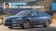 2020 subaru legacy first drive