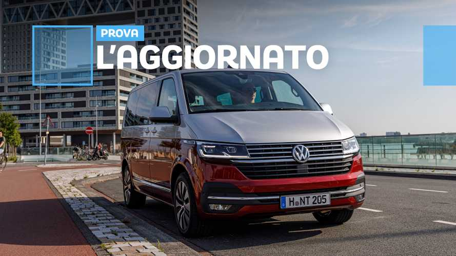 Volkswagen Multivan 6.1, l'upgrade per restare al passo