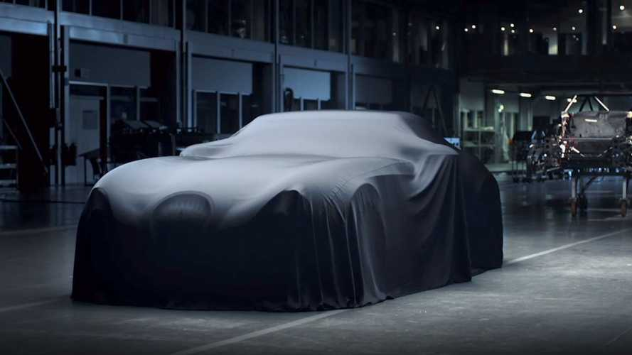 New Weismann teased with BMW M5 engine