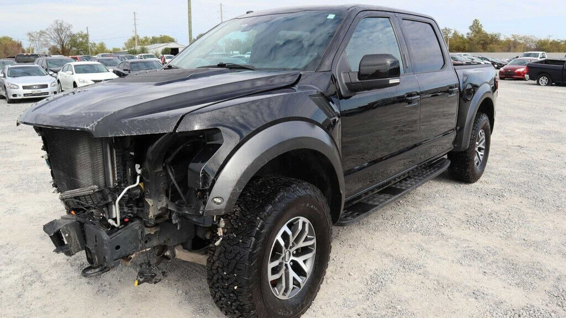 "[""Would You Pay This Much For A Wrecked Ford Raptor?""]"