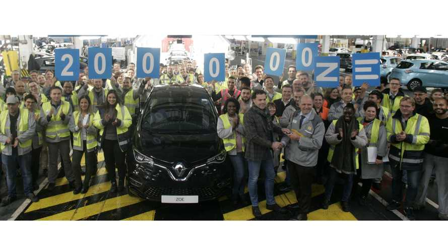 Renault's Flins Plant Produced Its 200,000th Electric Car