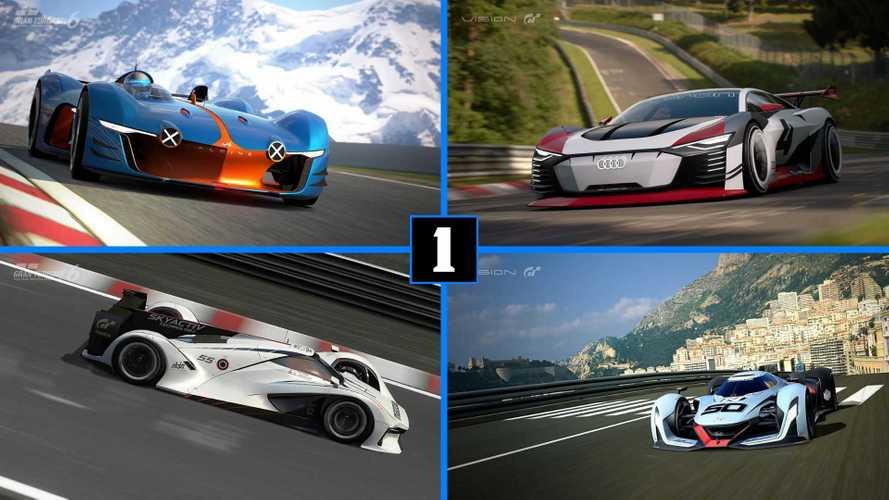Los Vision Gran Turismo más espectaculares de PlayStation