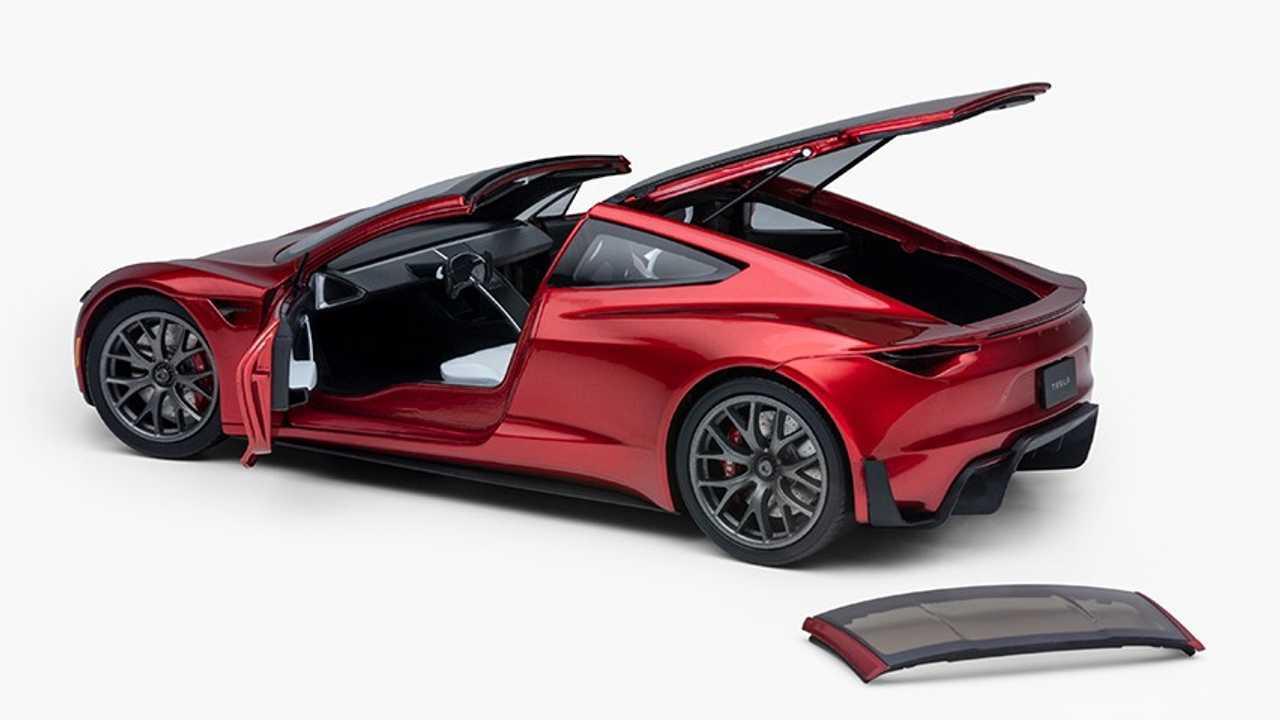 Tesla Roadster Diecast