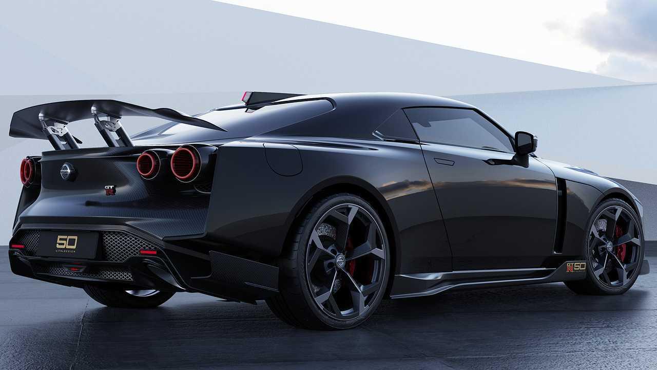 1 18 Millionen Euro Teurer Nissan Gt R50 Geht So In Serie Update