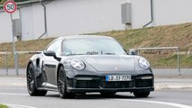 Porsche 911 Turbo Nurburgring spy photos